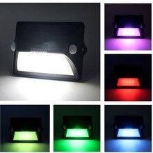 SANHOOII Super Bright Lighting LED Solar Lamp IP55 Waterproof PIR Motion Sensor Light For Garden Wall Sunlight