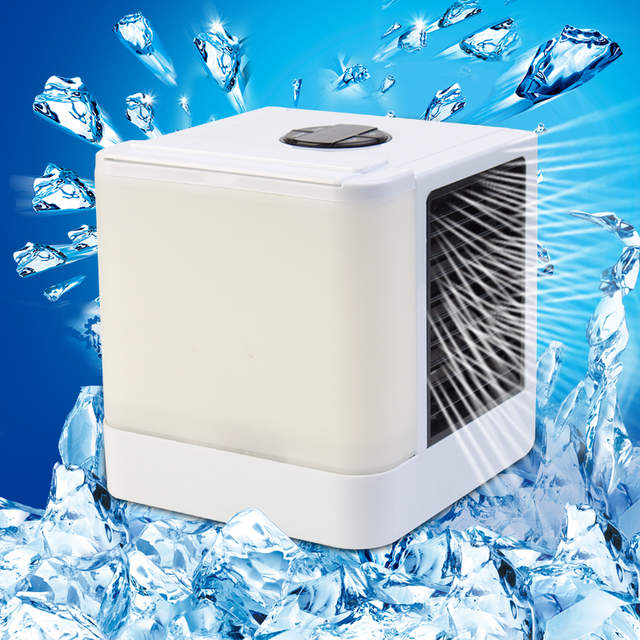 NEW Fans Cooler Personal Space Cooler The Quick & Easy Way to Cool Any Space Air Conditioner Device Home Office Desk