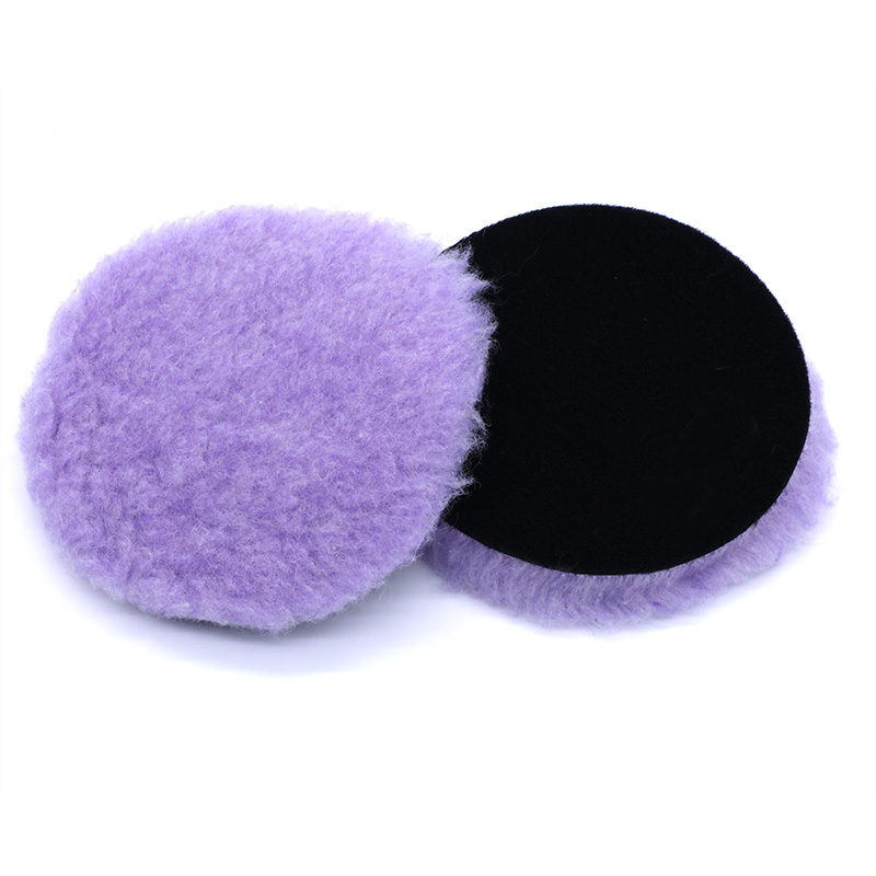 Image 2 - 6 Inch Buffer Pads Car Automotive Buffer Pads Car Accessories Wash Wool Polishing Auto Cars Detailing Waxing Tool Cars Polishing-in Sponges, Cloths & Brushes from Automobiles & Motorcycles