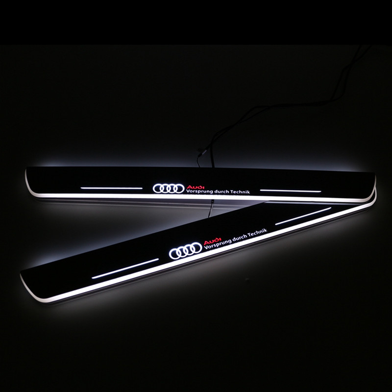 Led Door Sill For Audi A6 C7 2013 2014 2015 Led Moving