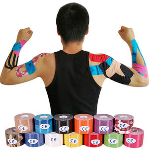 Tape-Care Support Adhesive Muscle-Stickers Elastic Kinesiology Strain Injury Cotton Fitness