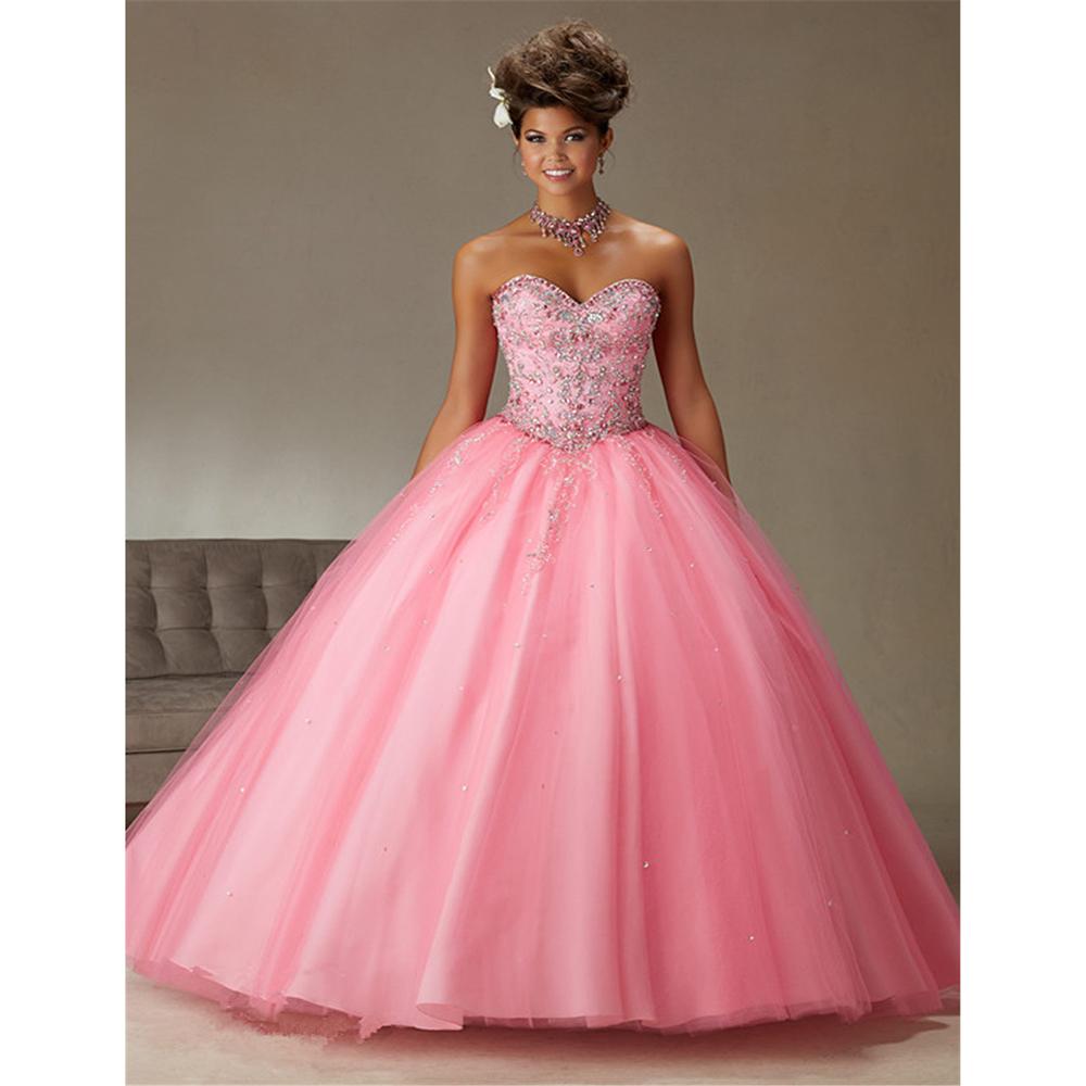 Online Get Cheap Vestidos De Quinceañera Rosa 2016 ...