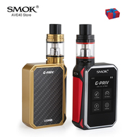 Original Electronic Cigarettes SMOK G Priv 220W Touch Screen Kit G Priv 220 With TFV8 Big