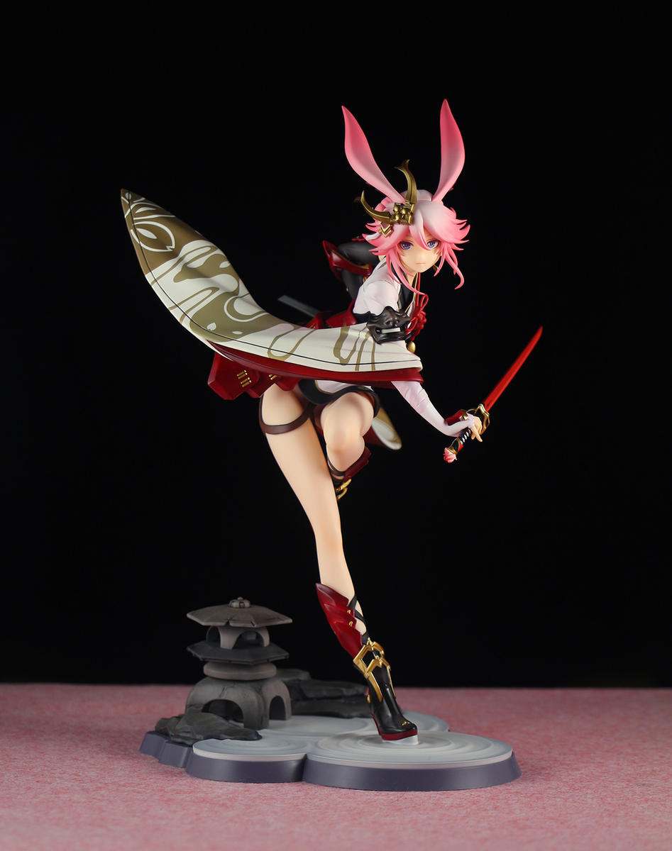 Game Collapsed Academy 2 Mihoyo Yae Sakura Flame Sakitama Ver. Figure Model Toy