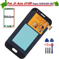 Super AMOLED Replacement for Samsung Galaxy J1 Ace J110 J110H J110F J110M LCD Display Touch Screen Digitizer Full Assembly