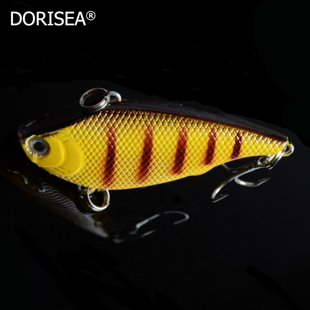 2017 New 5Pcs/Lot Hard Fishing Lures Minnow 7.5g 5.5cm Deep Swiming Pesca Artificial Baits Wobblers with #8 Hooks 3D Eyes