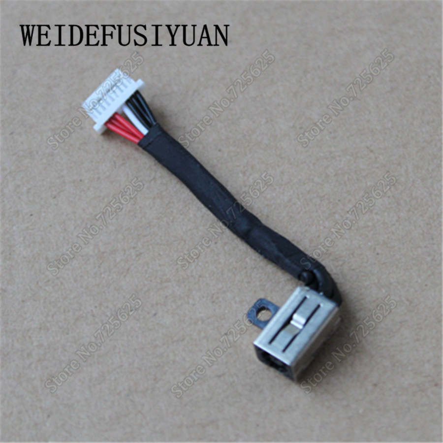 New AC DC Power Jack Wire Cable for Dell Inspiron 15 5568 13 5368 13 5378 0PF8JG PF8JG free shipping new laptop dc power jack connector cable wire for dell inspiron 15r n5050 n5040 m5040 p n 50 4ip05 101