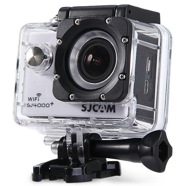 Car DVR Video Recorder SJCAM SJ4000 Plus WiFi 2K Novatek Waterproof 1080P 60FPS Gyro Sport Action Camera car dvr camera-white