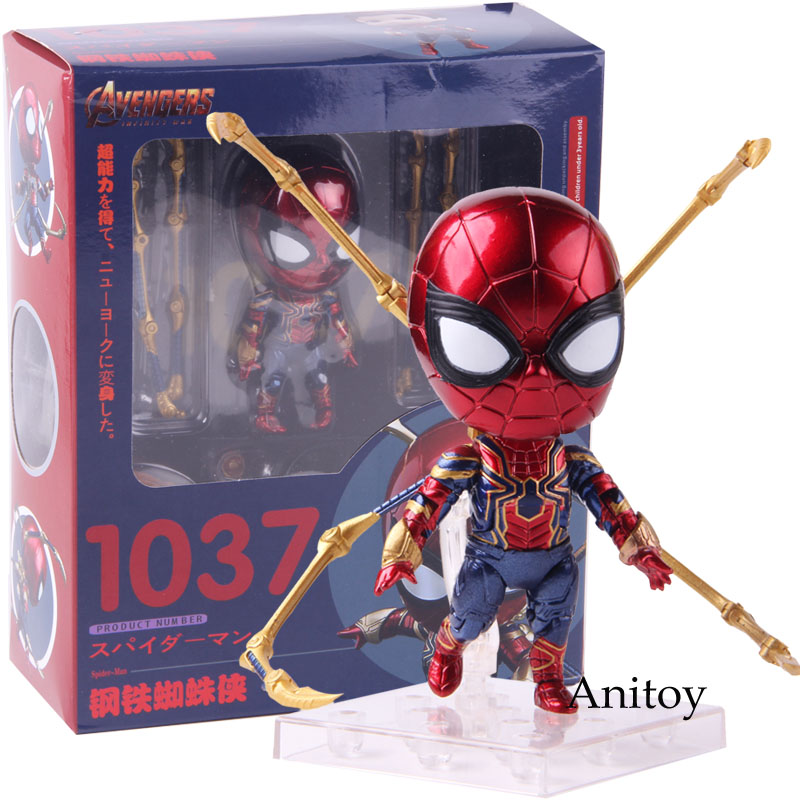 spiderman-nendoroid-1037-font-b-marvel-b-font-avengers-infinity-war-iron-spider-action-figure-spider-man-pvc-collectible-model-toy