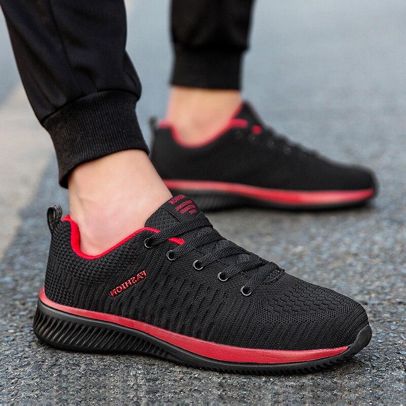 Мужская спортивная обувь, спортивная дышащая обувь для бега, Zapatillas Hombre Deportiva, высокое качество, 2019