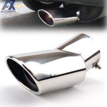 Silenciador de escape punta para Hyundai Tucson ix35 para Kia Sportage 2011-2015 tubo de escape acabado embellecedor de extremo silenciadores cubierta de punta