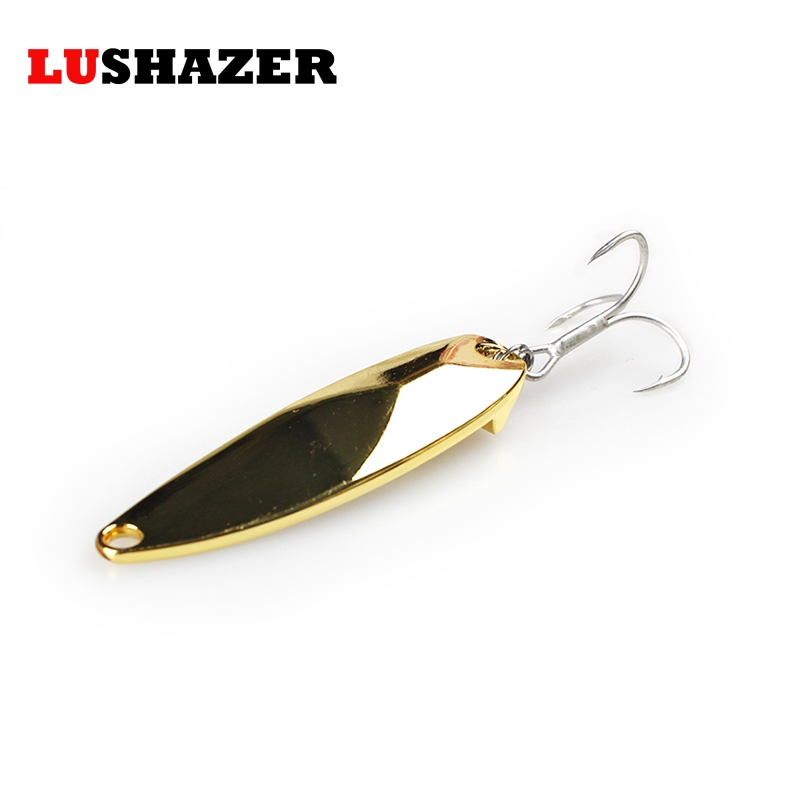 LUSHAZER fishing bait 15g 20g 25g carp fishing wobbler spoon lure metal baits isca artificial hard lures China spinnerbait lushazer fishing lure minnow bait 18g hard lures carp fishing iscas artificiais 2016 wobbler crankbait cheap sea fishing tackle