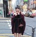 Genuine mink suéter de cachemira de las mujeres suéteres de cachemira chaqueta de punto Personalizada envío libre del color