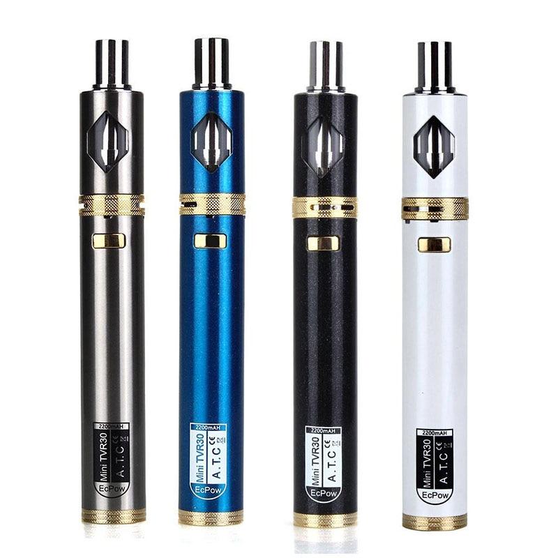e font b cigarette b font starter kit TVR16 15W gift kit with TVR evod battery