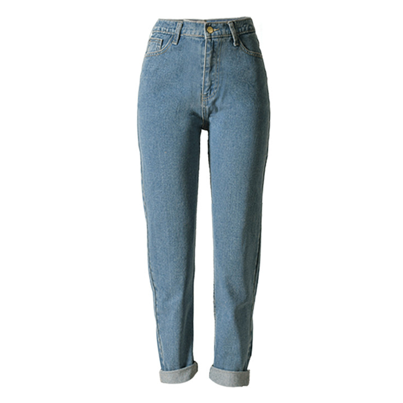 2016 Explosion Models Women Jeans Straight Casual Ladies Hole Jeans Loose Fashion Denim Ripped Jeans For