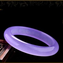 Fashion natural Burma stone violet bracelet female friend a gift