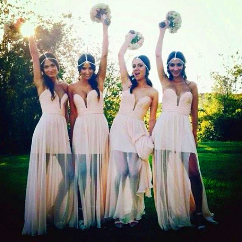 2015 bohemian bridesmaid dresses sexy wedding guest abaya for Bohemian dresses for a wedding guest