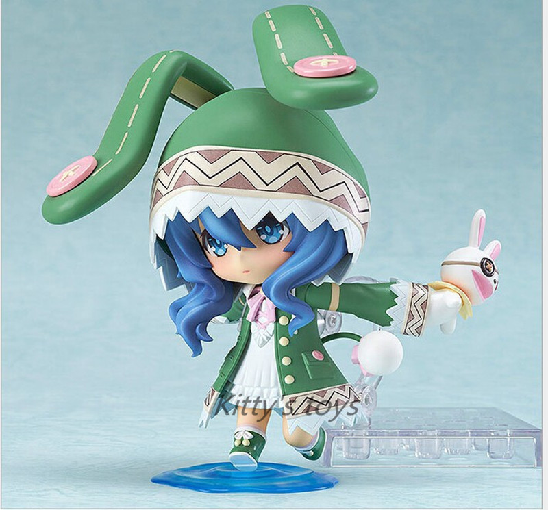 """Cute 10cm Japanese anime Nendoroid 4"""" Date A Live Yoshino PVC Action Figure Collection Model Toy #395 1"""