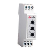 DMB51CM24 2pcs Multifunction Analog Timer Relay Module & Board 5A 24V DC/AC 250VAC 7 Range Electronic Time Relay Switch Din Rail