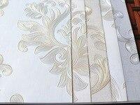 3d texture non woven round mesh fine pressed garden flower wallpaper bedroom high end home decoration wallpaper