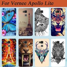 For Vernee Apollo Lite Back Cover Case Painted Protective Hard Cover Case For Vernee Apollo Lite 5.5inch Smart mobile phone(China)