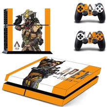 Game APEX Legends PS4 Skin Sticker Decal For PlayStation 4 Console and 2 Controllers PS4 Skins Sticker Decal