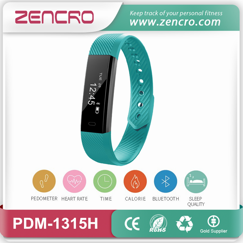 slim design calories counter smart band