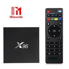 [Подлинная] S905X X96 2 ГБ 16 ГБ TV Box Amlogic Quad Core Android 6.0 зефир TV Box WIFI HD 2.0 4 К * 2 К 1080 P Много Moives ТВ коробка