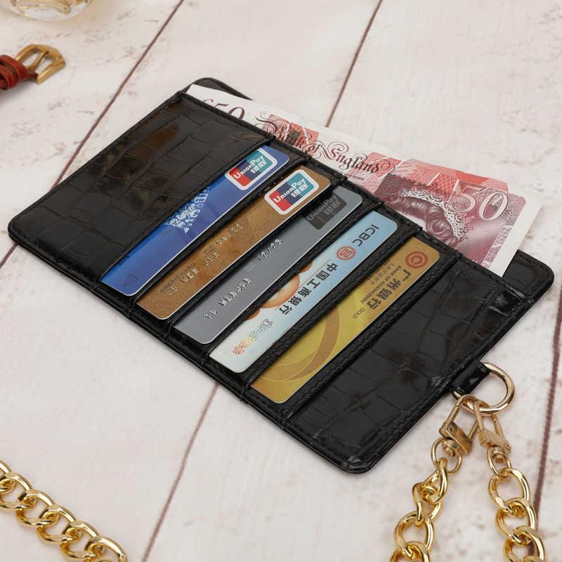 Telefon Kapak Durumda Banka KIMLIK İş Kredi Ince Kadın Erkek kart tutucu Cüzdan Kadın Erkek telefon tutucu Kılıfı Için bozuk para cüzdanı