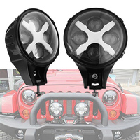 Round 6'' Auxiliary light 60W 6INCH led headlight for Jeep Wrangler JK SUV Offroad Spotlight Driving lights