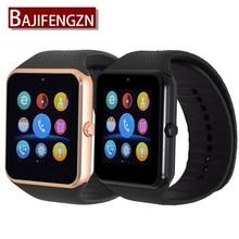 Bluetooth Smart часы Поддержка сим SD карты SmartWatch для Android-смартфон часы PK GT08 Q18 A1 для Samsung телефонов Huawei