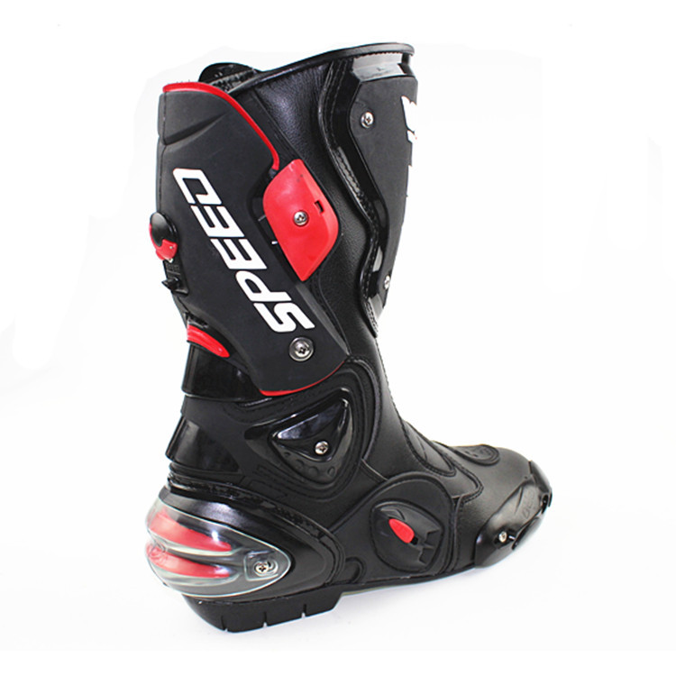 Online Shop Fashion Motorcycle Boots SPEED Bikers Moto Racing ...