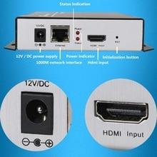 H.264 IPTV Encoder Codificador Codificador de Vídeo HDMI HDMI, Transmisión En Vivo de Difusión, funciona con wowza, códigos xtream, youtube…