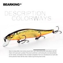 Bearking Bk17-W1 воблер гольян 11 см 14 г 1 шт. рыболовные приманки 1,5 м глубокие глубины погружения Жесткий приманки длинный язык Минноу приостановки приманка