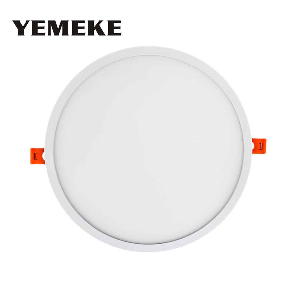 1pcs Newest Narrow Frame Led Panel Light 6W 12W 18W 24W Round Square Led downlight Dimmable Cold/ Warm White Indoor Lighting