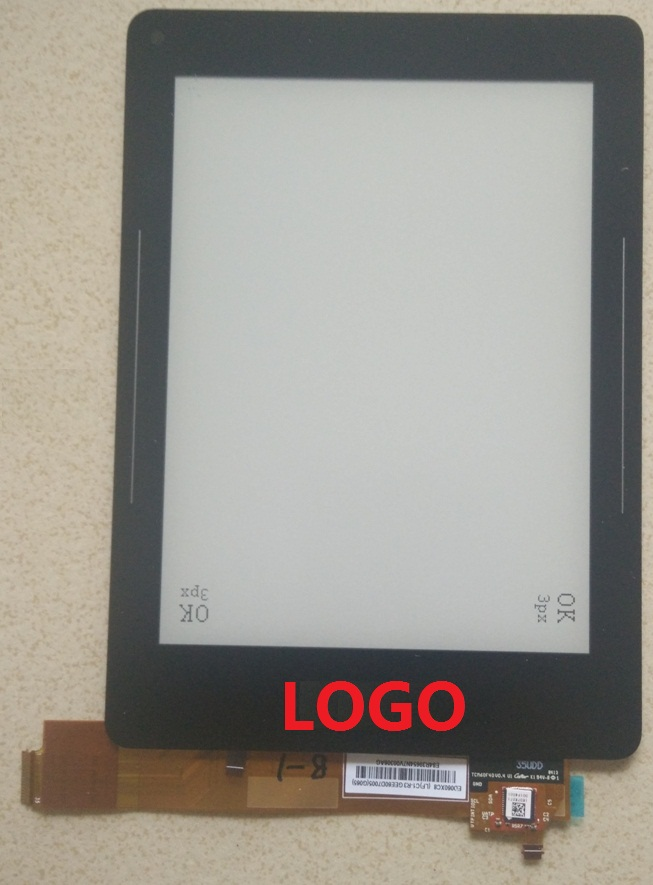6inch ED060XC8(LF)C1-R3 touch panel Digitizer With lcd display matrix With light ED060XC8 For MONTANA Reader free shipping new 6 ed060sc7 lf c1 e ink lcd display for amazon kindle 3 k3 ebook reader large amount in stock