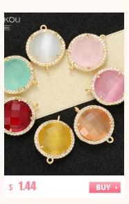 6 мм/8 мм/10 мм лучшее качество латунные кубические циркониевые круглые разделительные бусины для ювелирных изделий DIY, смешанные цвета, Модель: VZ4/5/6