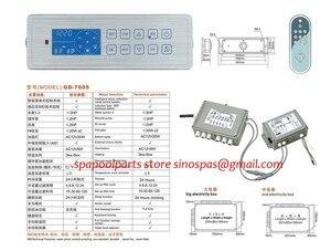 Image 5 - 새로운 컨트롤러 시스템 gd7005 GD 7005 gd 7005 저렴한 온수 욕조 컨트롤러 팩