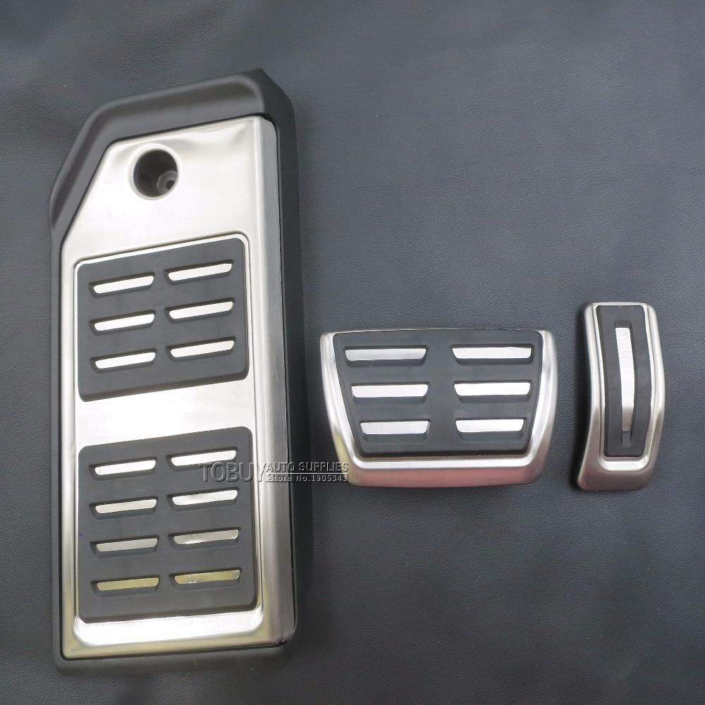 TTCR-II Модифициран аксесоар за автомобил за Audi Q7 2016 2017 2018 2019 LHD акселератор за крачета за подложка за педали за обзавеждане