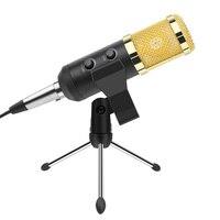 Ituf Professional Condenser USB Microphone BM900 for computer BM 800 Upgraded Audio Studio Vocal Recording KTV Adjustable volume