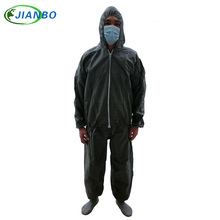 Disposable Jumpsuit Work SMS Painting Food Workshop Laboratory Safety Pesticide Chemical White Split Clothing Protective Suit