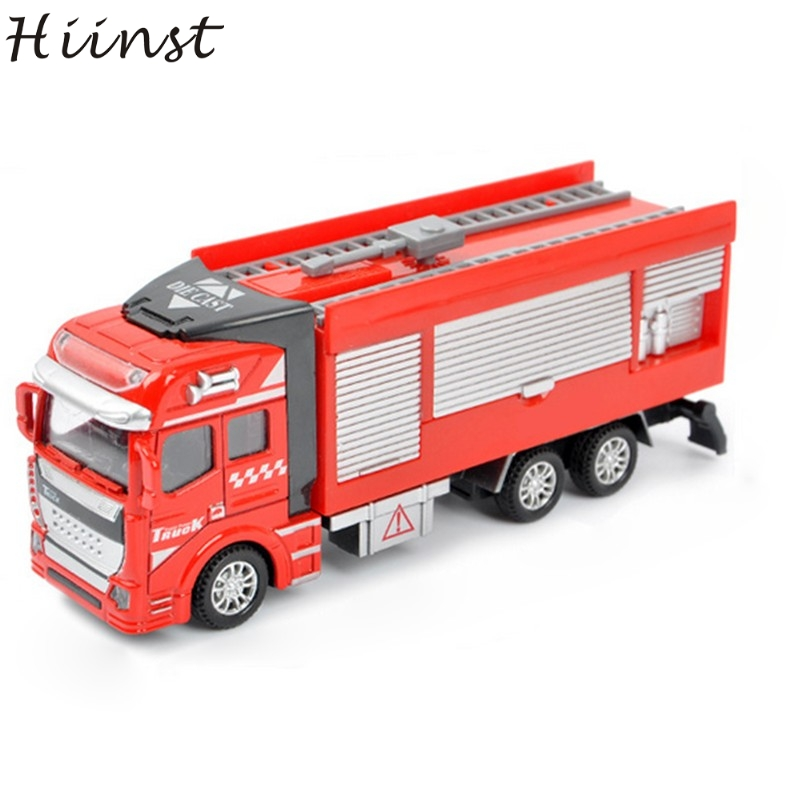 HIINST High Quality Red Giocattolo Childrens Kids Educational Fire Water Sports Truck Toy Car As Birthday Gift Aug14 Drop Ship