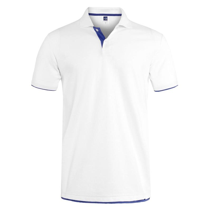 Mens Polo Shirt Brands Clothing short Sleeve Summer Shirt Man Black Cotton Polo Shirt Men Plus Size Polo Shirts 49