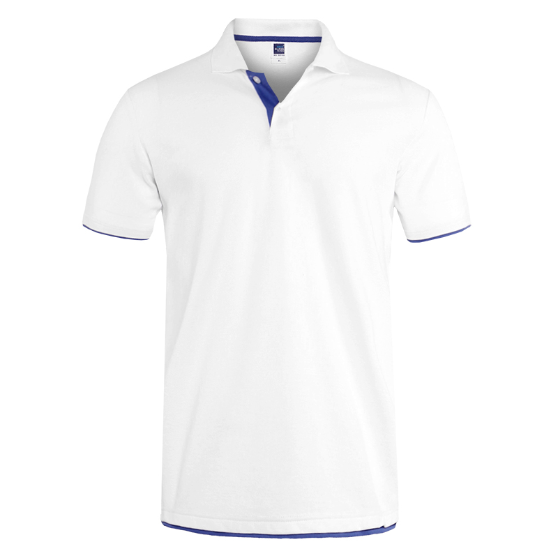 Mens Polo Shirt Brands Clothing 2019 Short Sleeve Summer Shirt Man Black Cotton Poloshirt Men Plus Size Polo Shirts 18