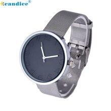 watch Reloj relogio feminino 2017 Ladies Watches Quartz Analog Stainless Metal Silver WristWatch Clock 17Jan22