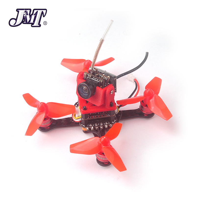 JMT Trainer66 Mini 66mm 1S FPV Racing Drone PNP Kit w/ Flysky DSM-2 / X Frsky Receiver For Indoor Racer jmt et125 pnp fpv brushless remote control racing drone mini helicopters flysky futaba receiver accessory