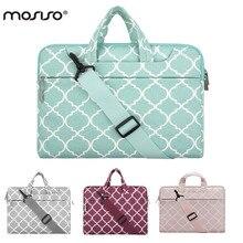 MOSISO Canvas Laptop Shoulder Bag Strap for Macbook Air/Pro/Asus 11 13 14 15 15.6 inch Notebook Computer Bags Handbag Briefcase