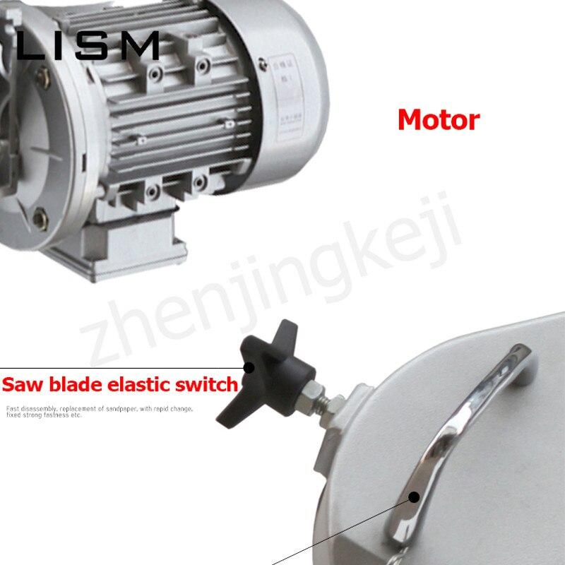 110 V-220 V multi-fonction métal scie à ruban Machine à bois scie à ruban Machine verticale horizontale en acier inoxydable Machine de découpe - 5