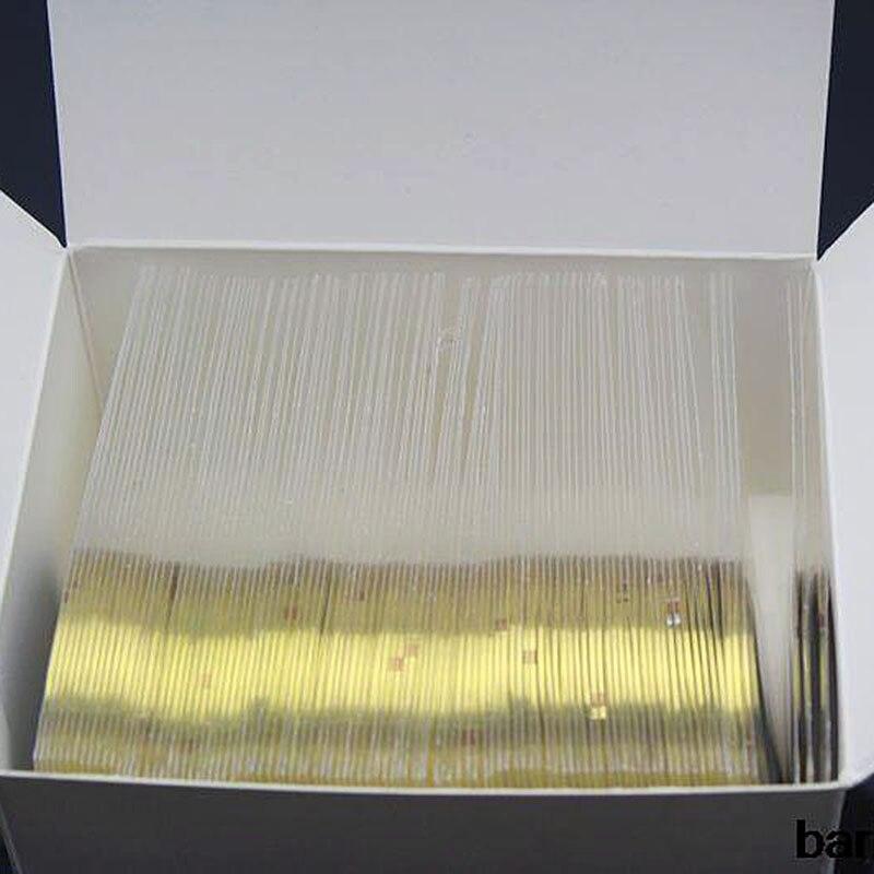 laser da cor do ouro pin striping fita prego striping tape 100 pcs lote adesivo prego