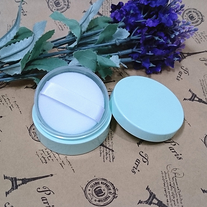 10/20/30pcs Empty Refillable Cosmetic Jar Pot Loose Powder Sifter Case With puff Face Cream Cosmetic Makeup Jar Container
